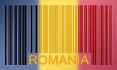 Barcode flag — Stock Photo