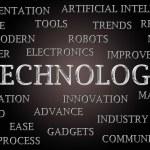 Technology word cloud — Stock Photo #33115361