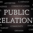 Public Relations word cloud — Stok Fotoğraf #33319023