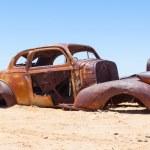 Abandoned car in the Namib Desert — Stock Photo #38889189