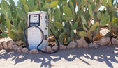 Bomba de combustível de estilo antigo — Foto Stock