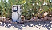 古いスタイルの燃料ポンプ — ストック写真