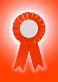 Award ribbon isolated on a white background — Photo