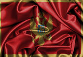 Satin flag, three dimensional render — Stockfoto