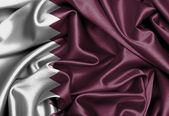 Satin flag, three dimensional render — Stock Photo