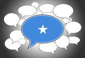Communication concept - Speech cloud — Stock Photo