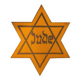 Jewish Yellow Star — Stock Photo