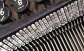 Detail of an old typewriter — Stock Photo