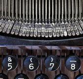 古いタイプライターの詳細 — ストック写真