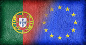 Portugal and the EU — Stock Photo