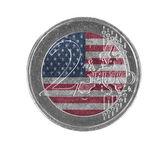 Euro coin, 2 euro — Stockfoto