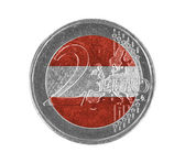 Euro coin, 2 euro — Stock Photo