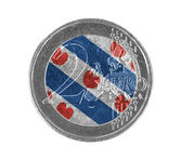 Euro coin, 2 euro — Zdjęcie stockowe