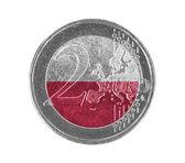 Euro coin, 2 euro — Stock Photo