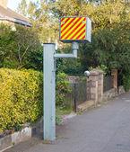 UK static speed camera — Stock Photo