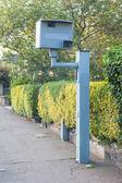 UK static speed camera — Foto Stock