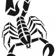 Scorpion — Stock Vector