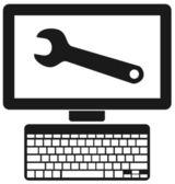 Computer — Stock Vector