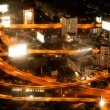Timelapse - Highway from above — Stock Video #12592155