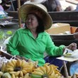 Stock Video: Floating Market in Thailand