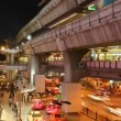 Timelapse - Aerial subway station - Siam BTS Station - Bangkok - Foto Stock