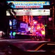 Stock Video: Timelapse - Bangkok red light district