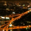 Stock Video: Timelapse - Highway from above