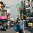 Timelapse Bangkok Khaosan Road — Stock Video