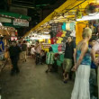 Stock Video: Timelapse of Bangkok night market