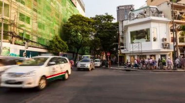 Timelapse of Traffic in Ho Chi Minh City — Stock Video