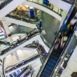 Stock Video: Shopping mall Timelapse