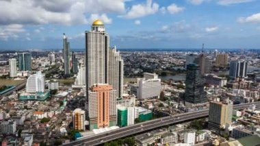 URBAN SKYLINE time-lapse - Bangkok — Stockvideo