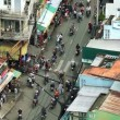 Stock Video: TRAFFIC IN VIETNAM - HO CHI MINH CITY
