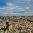 Stock Video: CITY AERIAL VIEW - Ho Chi Minh City Timelapse