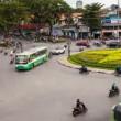 Stock Video: TRAFFIC IN VIETNAM - HO CHI MINH CITY - Time Lapse