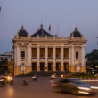 Stock Video: Hanoi OperHouse - Zoom Time Lapse - Vietnam