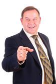 Successful elder businessman — Stock Photo