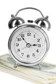 Old style alarm clock — Stock Photo