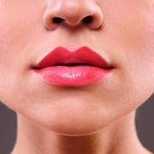 Lèvres femme beauté — Photo