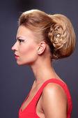 Beautiful young blonde woman — Stock Photo