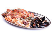 Meze farklı deniz ürünleri — Stok fotoğraf