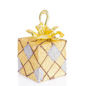 Beautiful present box — Stock Photo