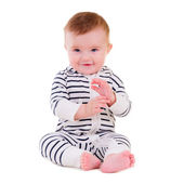 Baby-sitter smiley — Foto Stock