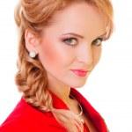 Beautiful young blonde woman — Stock Photo #21671825