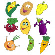 Royalty-Free Stock Photo: Group of vegetables