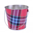 Empty iron bucket — Stock Photo