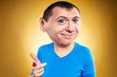 Retrato de caricatura de hombre — Foto de Stock