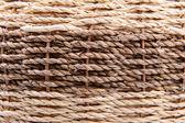 Woven rattan background — Stock Photo