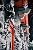 Buddyjski smoki — Zdjęcie stockowe