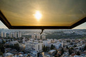 View of Jerusalem from roofs — Stock Photo